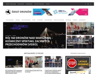 swiatdronow.pl screenshot