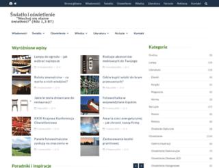 swiatlo.tak.pl screenshot