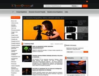 swiatobrazu.pl screenshot