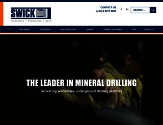 swickmining.com screenshot