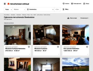 swiebodzice.nieruchomosci-online.pl screenshot