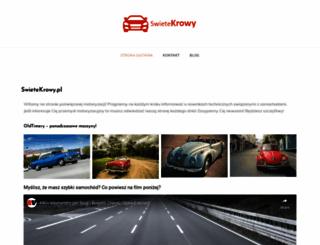swietekrowy.pl screenshot