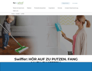 swiffer.de screenshot