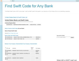 swift-codes.blogspot.com screenshot