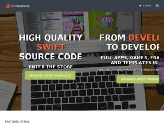 swiftappsource.com screenshot