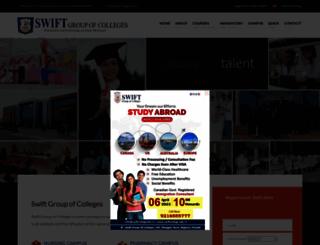 swiftcollege.edu.in screenshot