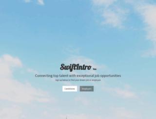 swiftintro.com screenshot