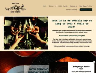 swiftsattic.com screenshot