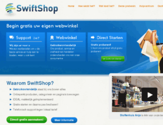swiftshop.nl screenshot