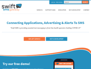 swiftsmsgateway.com screenshot