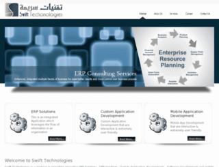 swifttechnologies.ae screenshot