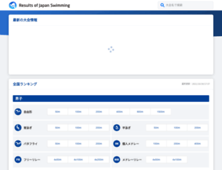 swim-record.com screenshot