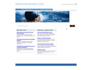 swimforweightloss.com screenshot