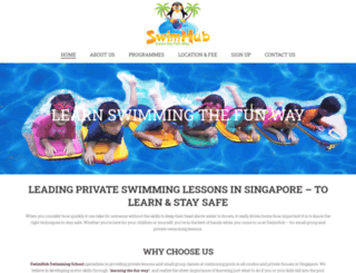 swimhub.com.sg screenshot