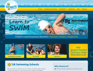 swimlessons.co.uk screenshot