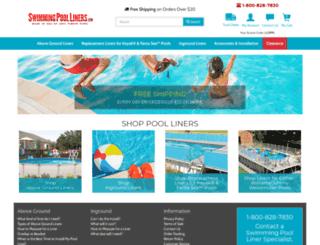 swimmingpoolliners.com screenshot
