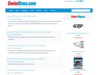 swimnews.com screenshot