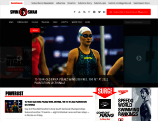swimswam.com screenshot