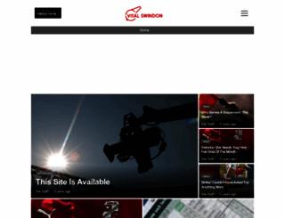 swindon.vitalfootball.co.uk screenshot