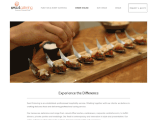 swirlcatering.com.au screenshot