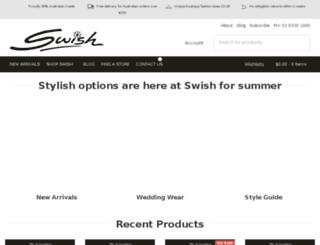 swishclothing.com screenshot