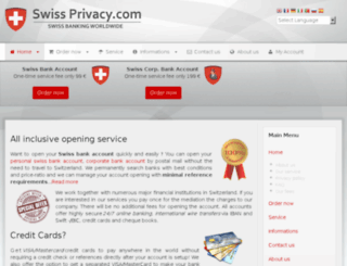 swiss-privacy.com screenshot