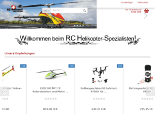 swiss-rc-helistuff.ch screenshot