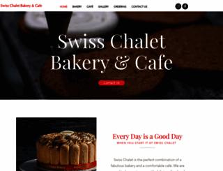 swisschaletbakery.com screenshot