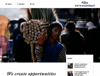 swisscontact.org screenshot