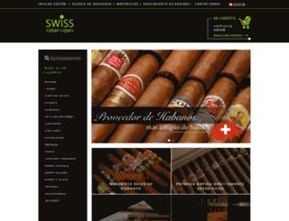 swisscubancigars.es screenshot