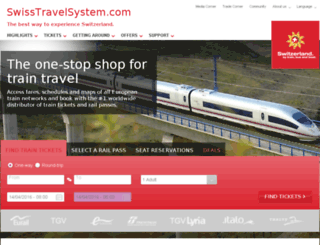 swissin.mytraintravel.com screenshot