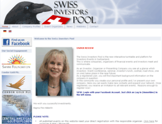 swissinvestorspool.ch screenshot