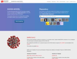 swissmodel.expasy.org screenshot