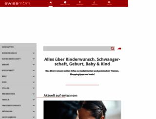 swissmom.ch screenshot