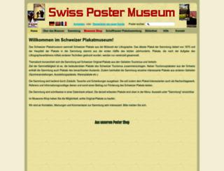 swisspostermuseum.com screenshot