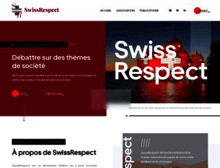 swissrespect.ch screenshot