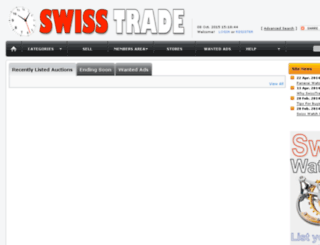 swisstrade.co.za screenshot