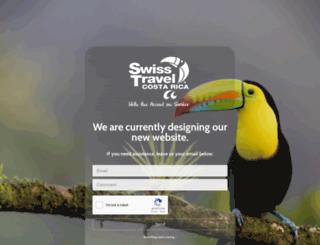 swisstravelcr.com screenshot