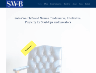 swisswatchbrand.com screenshot