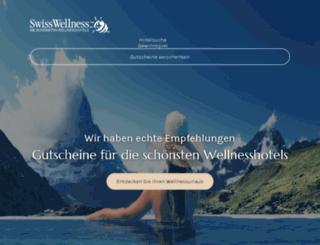 swisswellness.com screenshot