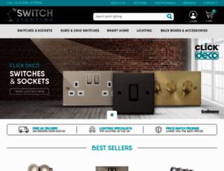 switch-lighting.co.uk screenshot