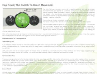 switch-to-green.be screenshot