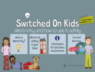 switchedonkids.org.uk screenshot