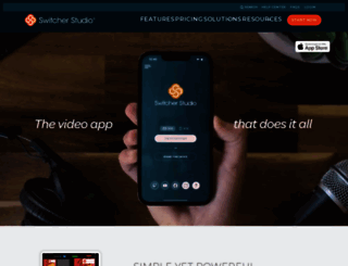 switcherstudio.com screenshot