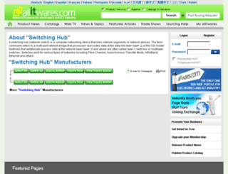 switching-hub.allitwares.com screenshot