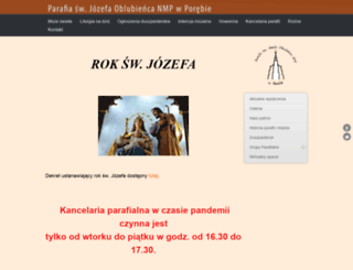 swjozef-poreba.pl screenshot