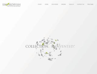 swordfish.co.za screenshot