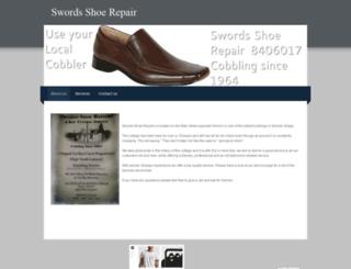 swordsshoerepair.weebly.com screenshot