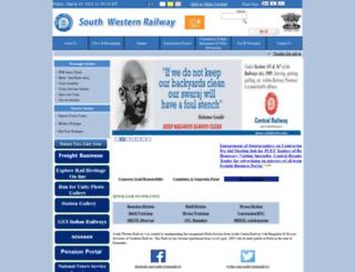 swr.indianrailways.gov.in screenshot
