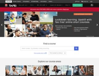 swsi.tafensw.edu.au screenshot